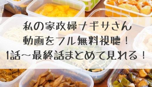 私の家政夫ナギサさん動画を1話~最終回まで見逃し無料視聴!ドラマ公式配信情報!